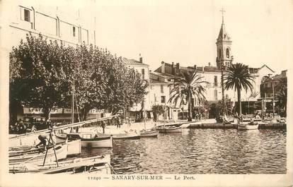 "/ CPA FRANCE 83 ""Sanary sur Mer, le port"""