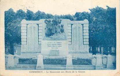 """/ CPA FRANCE 55 """"Commercy, le monument aux morts de la guerre"""""""