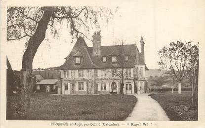 """/ CPA FRANCE 14 """"Cricqueville en Auge, Royal Pré"""""""