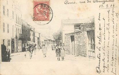 "/ CPA FRANCE 69 ""Cours, rue de Chauffailles"""