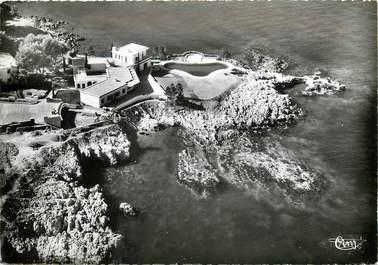 """CPSM FRANCE 06 """"Antibes, vue aérienne sur le chateau de Dubonnet"""""""