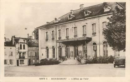 """/ CPA FRANCE 88 """"Remiremont, l'hôtel de ville"""""""