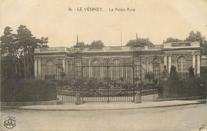"""/ CPA FRANCE 78 """"Le Vésinet, la palais rose"""""""