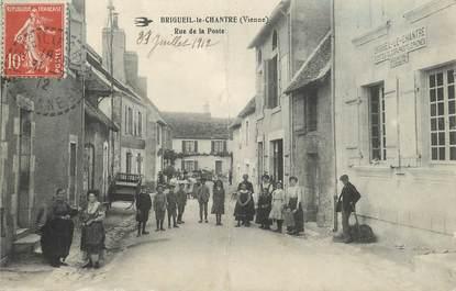 """/ CPA FRANCE 88 """"Brigueil le Chantre, rue de la poste"""""""