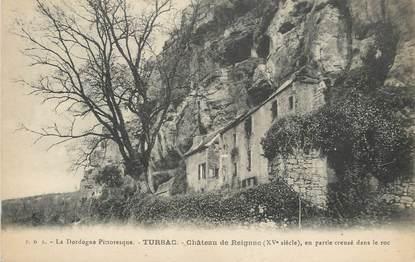 """/ CPA FRANCE 24 """"Tursac, château de Reignac"""""""