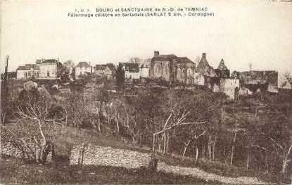"""/ CPA FRANCE 24 """"Bourg et sanctuaire de Notre Dame de Temniac"""""""