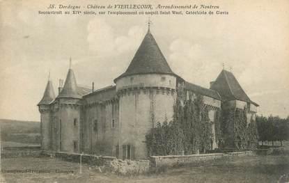 """/ CPA FRANCE 24 """"Château de Vieillecour, arrondissement de Nontron"""""""