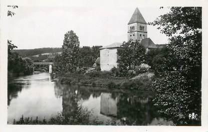 """/ CPSM FRANCE 24 """"Saint Leon sur Vézere, l'église"""""""