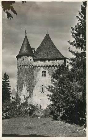 """/ CPSM FRANCE 24 """"Saint Leon sur Vézere, château de la Salle"""""""