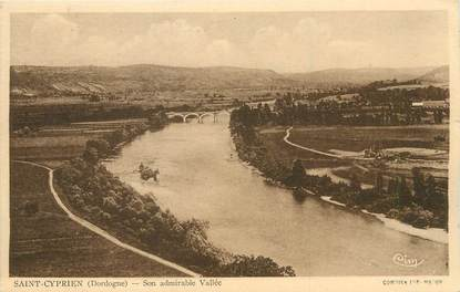 "/ CPA FRANCE 24 ""Saint Cyprien, son admirable vallée"""