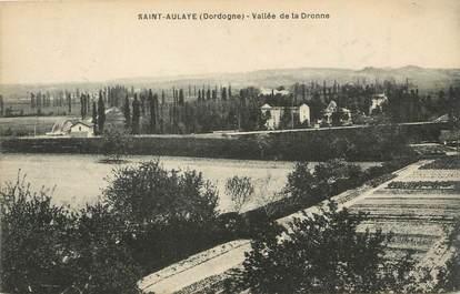 "/ CPA FRANCE 24 ""Saint Aulaye, vallée de la Dronne"""