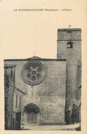 """/ CPA FRANCE 24 """"La Rochebeaucourt, l'église"""""""