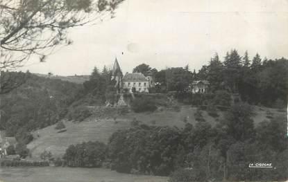 """/ CPSM FRANCE 24 """"Plazac, château du Peuch"""""""
