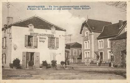 """/ CPA FRANCE 24 """"Monpazier, l'hôtel de Londres et son annexe Villa Reine"""""""