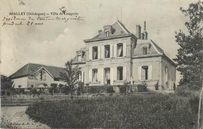 """/ CPA FRANCE 24 """"Miallet, villa de Cougerie"""""""
