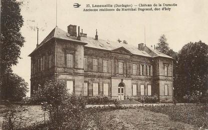 """/ CPA FRANCE 24 """"Lanouaille, château de la Durantie"""""""