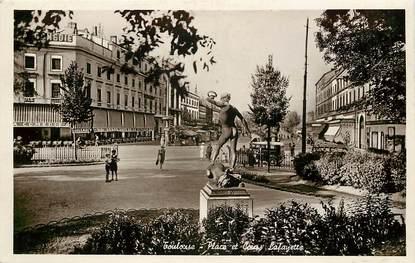 "CPSM FRANCE 31 ""Toulouse, Place Lafayette"""