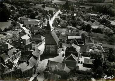 """CPSM FRANCE 72 """"La Chapelle Gaugain, vue aérienne"""""""