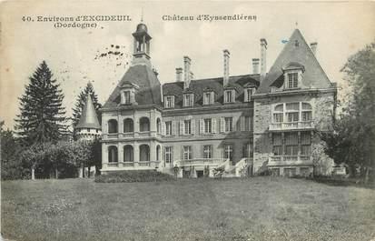"""/ CPA FRANCE 24 """"Environs d'Excideuil, château d'Eyssendières"""""""