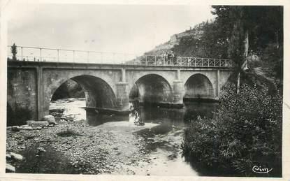 """/ CPSM FRANCE 24 """"Daglan, vue générale du pont"""""""