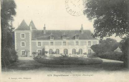 "/ CPA FRANCE 24 ""Puyolfaure, Cubjac"""