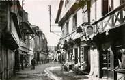 """56 Morbihan CPSM FRANCE 56 """"Pontivy, vieilles maisons rue du Fil"""""""