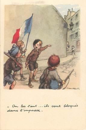 """CPA ILLUSTRATEUR POULBOT  """"on les tient..."""""""