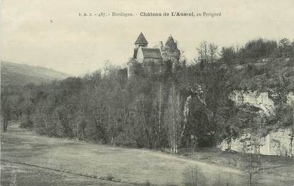 """/ CPA FRANCE 24 """"Château de l'Aussel en Périgord"""""""