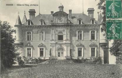 """/ CPA FRANCE 24 """"Nontron, château de l'étang"""""""