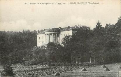 """/ CPA FRANCE 24 """"Château de Rastignac par la Bachellerie"""""""
