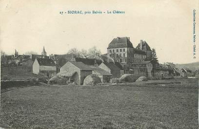 """/ CPA FRANCE 24 """"Siorac près Belvès, le château"""""""