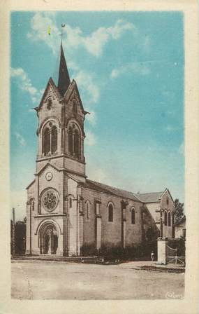 """/ CPA FRANCE 24 """"Tocane Saint Apre, l'église"""""""