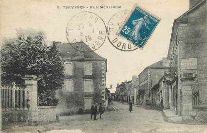 """/ CPA FRANCE 24 """"Thiviers, rue Monteluce"""""""
