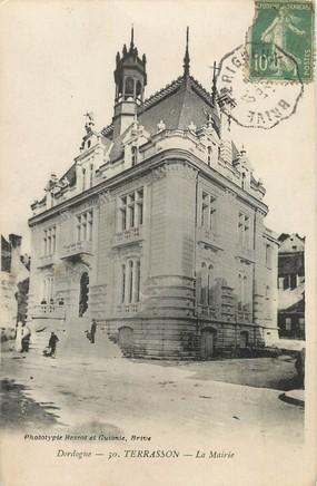 """/ CPA FRANCE 24 """"Terrasson, la mairie"""""""