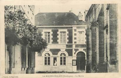 "/ CPA FRANCE 24 ""La Roche Chalais, la mairie"""