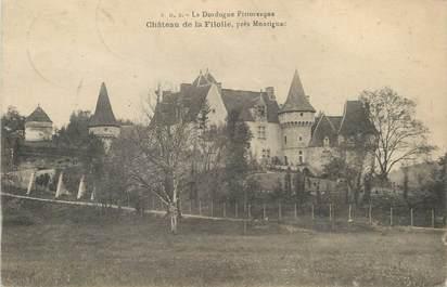 """/ CPA FRANCE 24 """"Château de la Filolie près Montignac"""""""