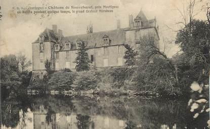 """/ CPA FRANCE 24 """"Château de Sauveboeuf près Montignac"""""""