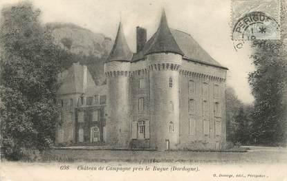 """/ CPA FRANCE 24 """"Château de Campagne, près le Bugue"""""""