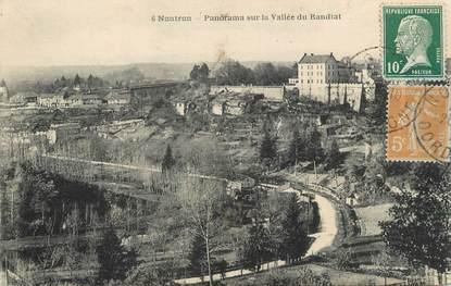 """/ CPA FRANCE 24 """"Nontron, panorama sur la vallée du Bandiat"""""""