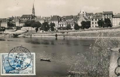 """/ CPSM FRANCE 24 """"Bergerac, vue de la ville depuis le pont"""""""