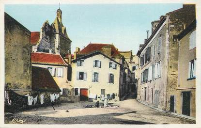 """/ CPA FRANCE 24 """"Bergerac, la place Pélissière"""""""