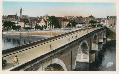 """/ CPSM FRANCE 24 """"Bergerac, le grand Pont sur la Dordogne"""""""