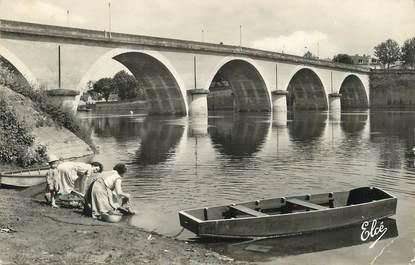 """/ CPSM FRANCE 24 """"Bergerac, pont sur la Dordogne"""""""