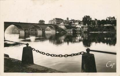 """/ CPSM FRANCE 24 """"Bergerac, pont sur la Dordogne et le Faubourg"""""""