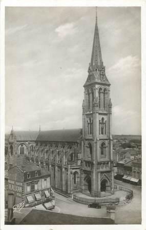 """/ CPSM FRANCE 24 """"Bergerac, église Notre Dame"""""""