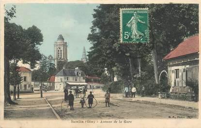"""/ CPA FRANCE 60 """"Senlis, avenue de la gare"""""""