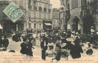 """CPA  FRANCE 03 """"Moulins, souvenir du sacre de Mgr Boutry"""""""