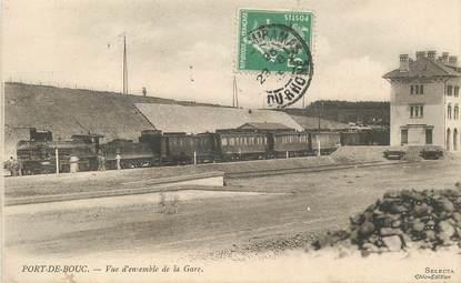 """CPA FRANCE 13 """"Port de Bouc, la gare"""" / TRAIN"""