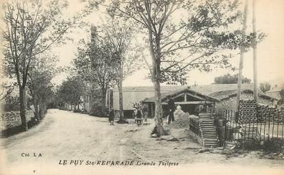 "CPA FRANCE 13 ""Le Puy Sainte Reparade, grande Tuilerie"""
