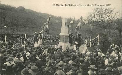 "CPA FRANCE 14 ""Saint Martin de Mailloc, Inauguration du monument"""